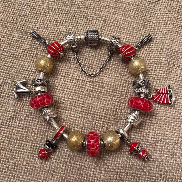 Pandora Jewelry - AUTHENTIC Pandora Asian-Themed Bracelet with BONUS